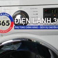Hướng dẫn khắc phục máy giặt LG inverter báo lỗi LE trước khi gọi thợ