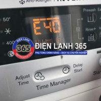 Máy giặt Electrolux báo lỗi E40