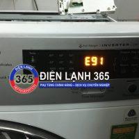 Máy giặt Electrolux báo lỗi E91