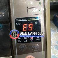 Máy giặt Sanyo báo lỗi E9